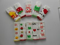 Wholesale PrettyBaby double layed Soft Baby Cotton Bibs duck frog rabbit Animal Baby Girls Boys Burp Cloths Bellyband Stomach Protection love Baby Bib