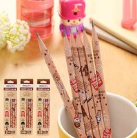 Wholesale Fashion Cartoon Cute Loose B Graphite Pencils Office School Pen for Students Officers Study Writing Promotional Stationery