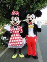 funny head - New High Quality Mickey and Minnie Mascot Costumes Cardboard head