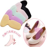 Cheap Holesale New Silicone Gel Shoe Insole Inserts Pad Cushion Foot Care Heel Grips Liner Shoe Accessories