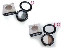 best batch - 2 Colour Baked Eyeshadow Color Mixed Batch Double Color Eye Shadow Eyeshadow for Women Best Gift DHL Hot