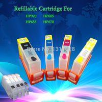 Cheap HP HP 670 655 685 Best REFILLABLE Full HP Deskjet 4615 4625 3525