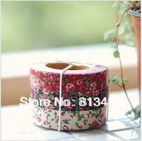 beautiful photo albums - beautiful fabric adhesive flower tape korea cloth home decoration diy scrapbook tool accessories photo album