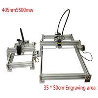 Wholesale DIYlaser cutter Mini laser engraving machine CNC3050 laser engraving machine marking plotter laser power mw