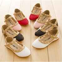 Wholesale 2016 Girls Dress Shoes Kids Leather Shoes Children Shoes Kids Footwear Fashion Casual Princess Dress Shoes Children Dress Shoes Girl Shoes