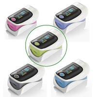 Wholesale 1 quot OLED Screen SPO2 Heart Rate Monitor Fingertip Pulse Oximeter Color Random x AAA