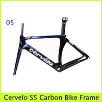 Road Bikes Carbon Fibre Glossy Cervelo S5 Road Racing Bike Frameset VWD S5 Cycling Full Carbon Fiber Frame Matt And Glossy Painting Bicycle Parts(Sell Colnago,De rosa etc.