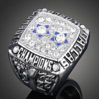 all'ingrosso dallas championship ring-anelli di campionato fan Memorial Collection Anelli formato 1977 di campionato Dallas Cowboys anelli anelli 7 8 9 10