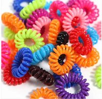 Wholesale 50PCS New Mix Rubber Elastic Girl Hair Accessories Tie Bands Rope hot sale