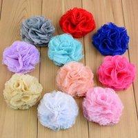 decorative mesh - 7cm mesh lace handmade flower hair accessories shoes flowers bouquets decorative flower colors