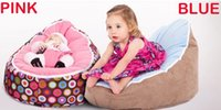 Wholesale 2015 New Fashion Baby bean bags bed baby sleeping beanbag chair Newborn sofa baby bed with harness Filler do not included Z1083