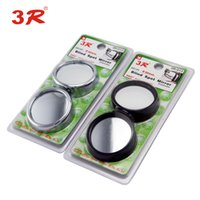 Wholesale Genuine new car small round mirror R side mirror degree rotation angle adjustable blind spot mirror car