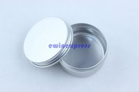 Cosmetic Empty Lip Balm Pots 15ml Petit Aluminium Lip Gloss Tins Pot Jars Craft Nail Art Maquillage