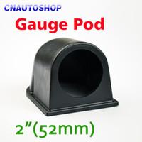 Wholesale 2 Inch mm Gauge Pod Universal Black Single Car Meter Holder for Auto Dash Mount order lt no track