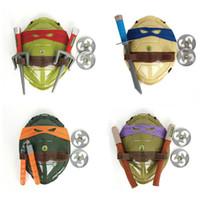 ninja turtles - Sample Order Teenage Mutant Ninja Turtles Weapons Toys Plastic Turtles Armor Shield Toy Movie Kids Toys Birthday Gifts S30219