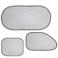 Wholesale Good Quality D Photocatalyst Mesh Net Heat Insulation PVC Car Window Sunshade Set Promotion ASAF