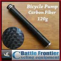 bicycle tire inflator - 2015 new ultralight carbon fiber cycling air pump portable bicycle tire inflator schrader presta valve for mtb road bike trip