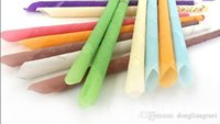 Wholesale 500pcs Indian Supreme trumpet horn Ear Candles With Earplug Fragrance Ear Candle cone Type Color Y301