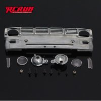 Wholesale RCRUN New Pierced Metal Intake Grille For Hilux Tamiya TF2