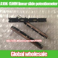 Wholesale for Majestic cm double fader fader A10K MM channel linear slide potentiometer