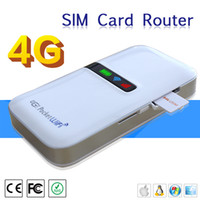 Wholesale 4000mAH Power Bank LTE Router Mini Portable G Router Wireless WiFi Hotsport FDD Router with SIM Slot