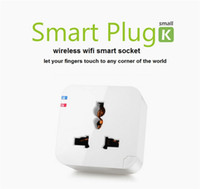 Wholesale Original Konke Universal Wireless Wifi Kankun Small K Smart Plug Remote Control Power Switch Electrical Plug Socket for iPhone Android Phone