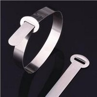 Wholesale Stainless Steel cable tie Marker T series Size x180 MM Material