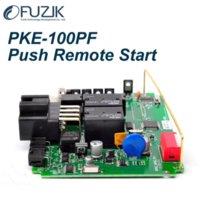 automotive keyless entry system - PKE PF two way automotive Universal Specialized PKE Keyless Entry Go Smart Key Push Button Remote Start Car Alarm System M38672