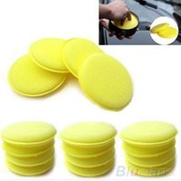 Wholesale 12x Waxing Polish Wax Foam Sponge Applicator Pads For Clean Cars Vehicle Glass Accessories VY