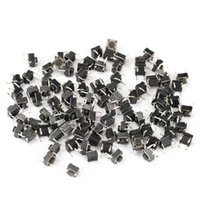 Cheap 100pcs Tactile Push Button Switch Momentary Tact 6x6x5mm DIP Through-Hole 4pin Momentary Push Button B2C Shop