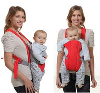 Wholesale Classical Durable New Born Front Baby Carrier Comfort Baby Slings Fashion Mummy Child Sling Wrap Bag Infant Carrier Free DHL