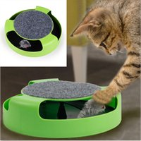 Wholesale New Pet Cat Toys Turbo Scratch Moving Mouse Mice Inside Kitten Toys Pet Supplies