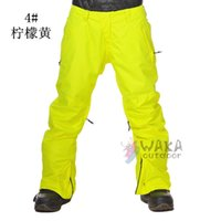 Wholesale women skiing pant waterproof gore tex colors snowboard sports
