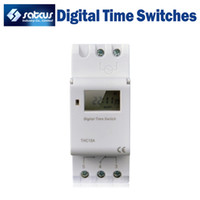 Wholesale Microcomputer Electronic Programmable Digital TIMER SWITCH Relay Control V A Din Rail Mount