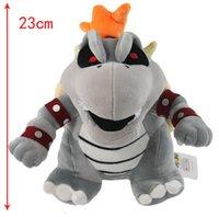 Wholesale Mario Bone Kubah boss Dragon Plush Toy Bolster Plush inches Soft Stuffed kids Toys Dolls
