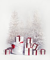 Wholesale 5X7ft thin vinyl photography backdrop background printed with Christmas backdrop wallpaper flooring D
