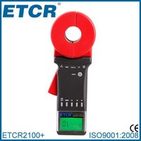 Wholesale Manufacturer ETCR2100 Non contact Digital Clamp Meter Earth Resistance Tester