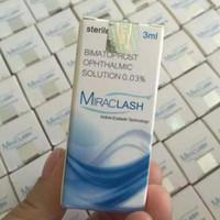 Wholesale 5Pcs Miraclash Eyelash Growth Treatments Eyelashes Growth Serum Liquid Make Eyelash Grow Longer VS careprost eyelash From China Factory
