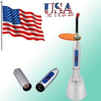 Wholesale USA Shipping Silver Dental W Wireless Cordless LED Curing Light Lamp mw