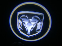 Wholesale 2x Ghost Shadow Cree Led Car Door Logo Led Laser Welcome Project For Fang Model DODGE