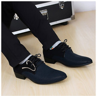 Wholesale 2015 Fashion mens wedding shoes popular Ponited Toes Grooms Shoes Casual pu leather shoes for men Party shoes groomsmen shoes