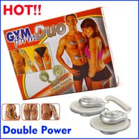 Cheap 1SET Electronic GYM Form Duo Muscle Toner Fitness System Body Massager