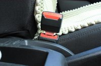 Wholesale 200Pcs Black in Universal Metal Safety Seat Belt Buckles for any car