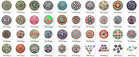 Wholesale 20pcs mixed deisgns for your choice zinc alloy crystal Noosa mm mm snap ginger snap noosa buttons Chunks Clasps Snap Jewellery Noosa