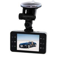 Wholesale Car DVR Recorder K6000 Full HD Vehicle Cameras Camcorder quot P Vehicle Black box DVR Night Version Wide Angle DHL