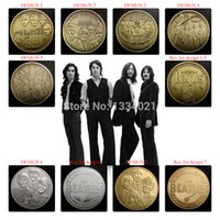 Wholesale New Arrival The Beatles gold silver bronze plated coin series metal craft coin