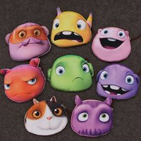 alien wallet - New Dreamworks Coin Purses Aliens D Printing Coin Bag Animal Face Zipper Coin Wallet For Women Styles