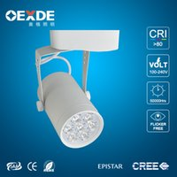 Wholesale track light fixture sets high lumens piece LED lamps Spot for shopping mall Warm White W W W AC ROHS CE