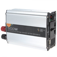 ac automatic - 500W Automatic Thermal Shutdown Car Power Inverter Adapter Convert DC V to AC V USB V CEC_300