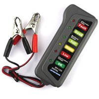 Wholesale 12V Battery Digital Alternator Tester Battery State Tester with LED Indicators For Cars Trucks Motorbike